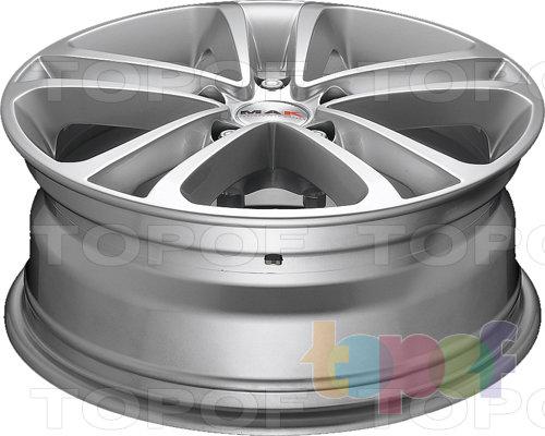 Колесные диски Mak Invidia. Насыщенный серебряный