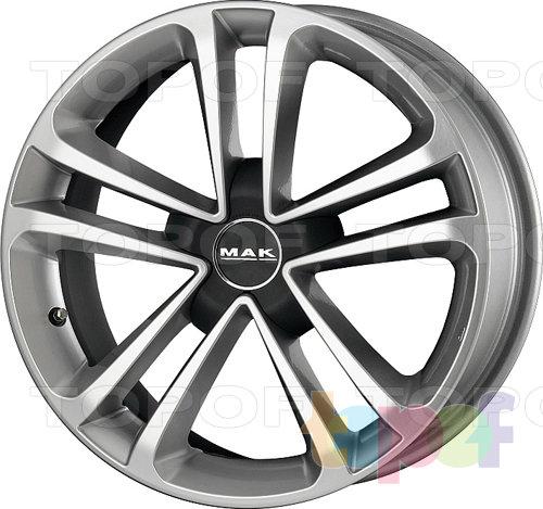 Колесные диски Mak Invidia De Luxe. Изображение модели #1