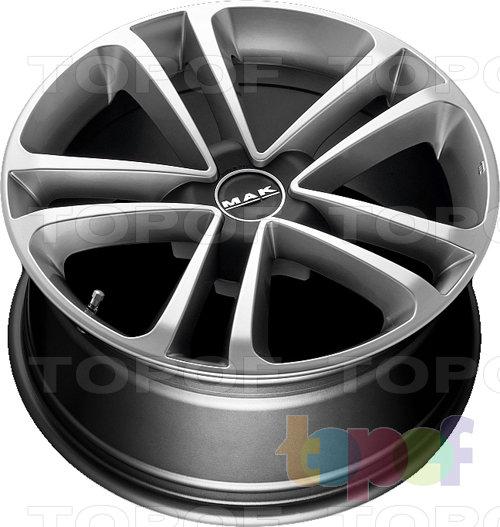 Колесные диски Mak Invidia De Luxe. Изображение модели #2