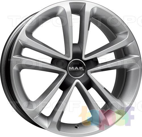 Колесные диски Mak Invidia De Luxe. Изображение модели #3