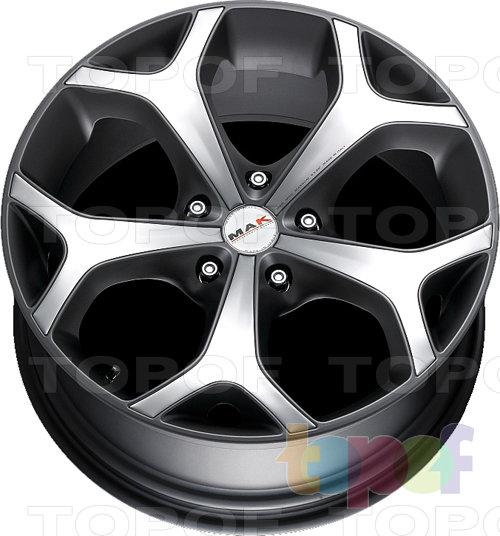 Колесные диски Mak Magnum. Цвет Metal Grey