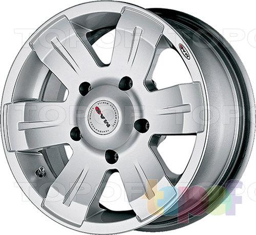 Колесные диски Mak Mohave. Изображение модели #2