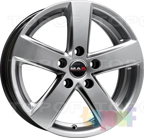 Колесные диски Mak Nova. Изображение модели #1