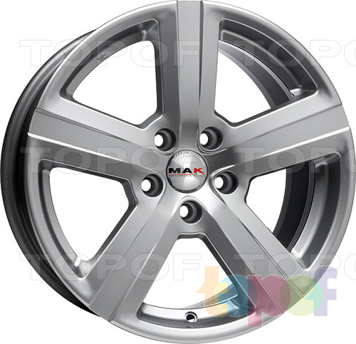 Колесные диски Mak Penta. Изображение модели #1