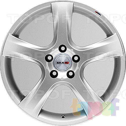 Колесные диски Mak R-Action. Изображение модели #5