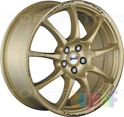 Колесные диски Mak Racing Spirit. Цвет золотой