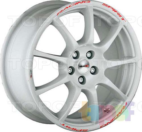 Колесные диски Mak Racing Spirit. Цвет белый