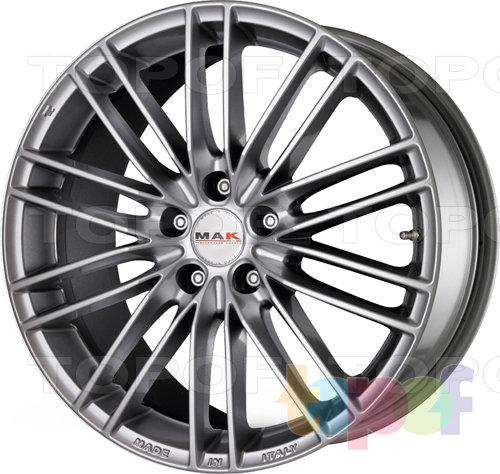 Колесные диски Mak Rapide. Цвет Silver GG