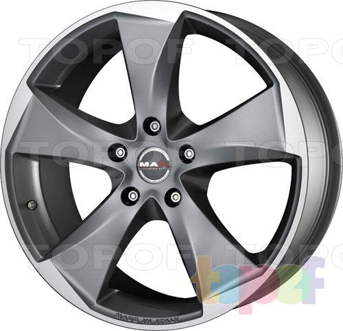 Колесные диски Mak Raptor 5. Цвет Graphite Mirror