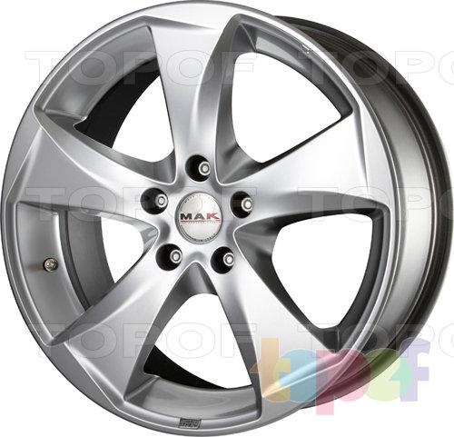 Колесные диски Mak Raptor 5. Цвет Hyper Silver