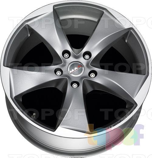 Колесные диски Mak Raptor 5. Graphite Mirror