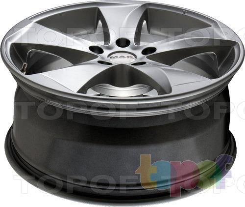 Колесные диски Mak Raptor 5. Насыщенный серебряный