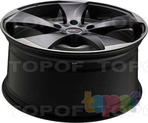 Колесные диски Mak Raptor 5. Ice Superdark