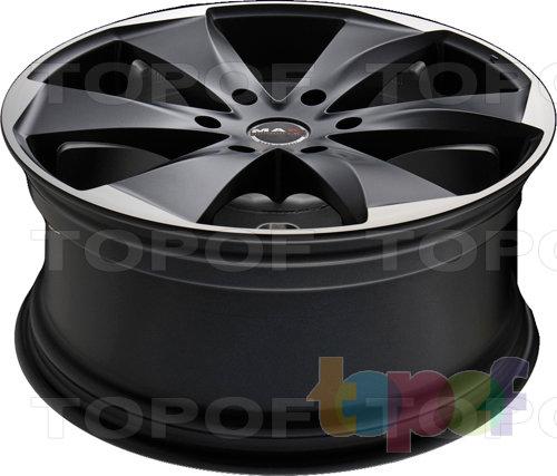 Колесные диски Mak Raptor 6. Ice Superdark