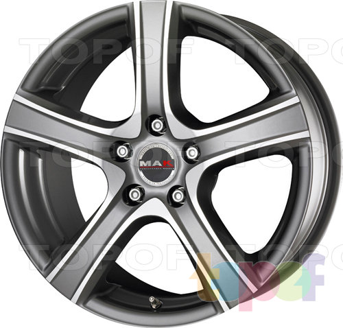 Колесные диски Mak Scorpio. Цвет Iron Mirror