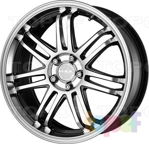 Колесные диски Mak Seven. Изображение модели #1