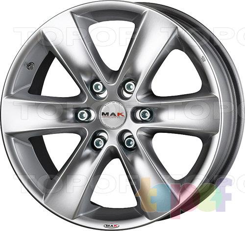 Колесные диски Mak Sierra. Изображение модели #1