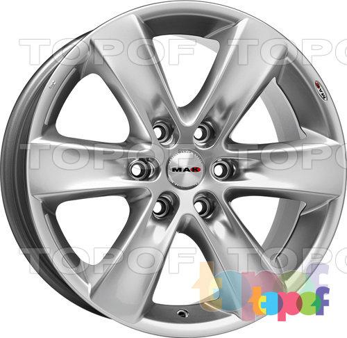 Колесные диски Mak Sierra. Изображение модели #4