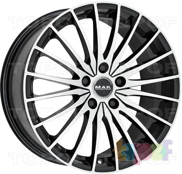 Колесные диски Mak Spin. Изображение модели #1