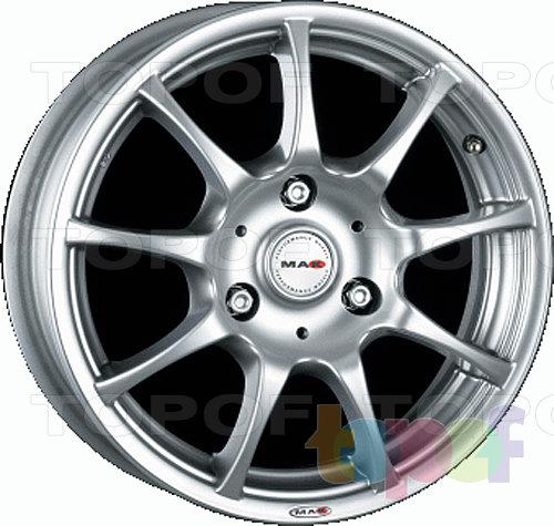 Колесные диски Mak Spirit. Устанавливается на автомобили Smart