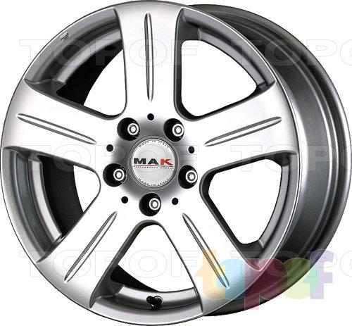 Колесные диски Mak Stella. Изображение модели #1