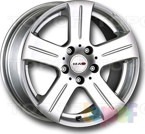 Колесные диски Mak Stella. Изображение модели #4