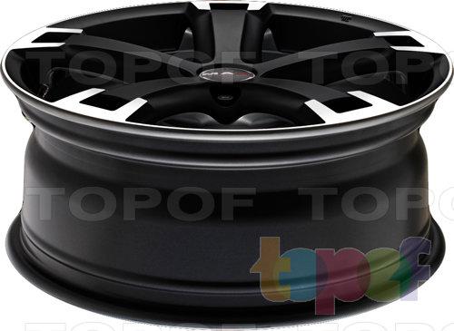Колесные диски Mak Unique. Цвет Ice Black