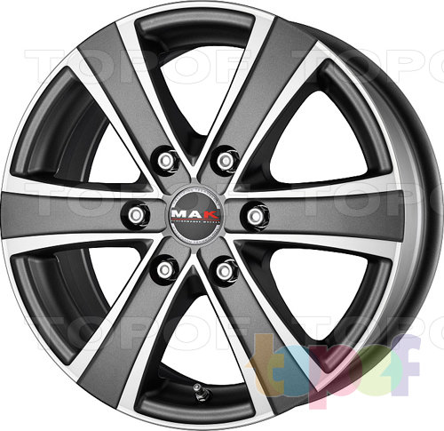 Колесные диски Mak Van 6