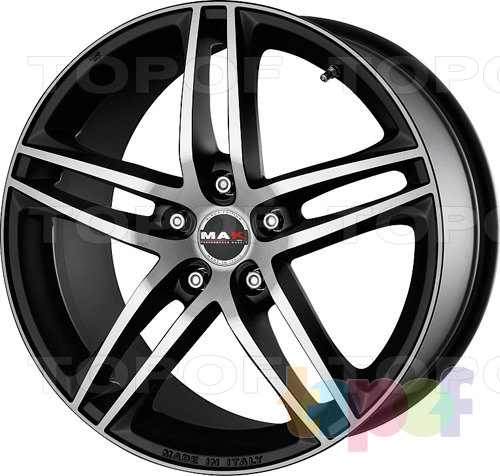 Колесные диски Mak Variante. Цвет Ice Black