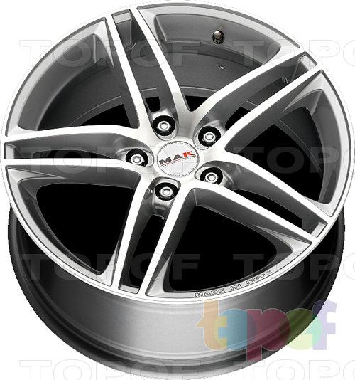 Колесные диски Mak Variante. Mirror / Silver (HS)