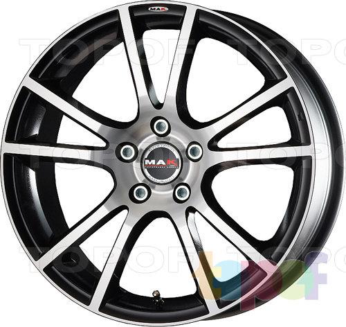 Колесные диски Mak Veleno. Цвет Black Mirror