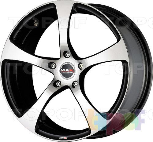 Колесные диски Mak Vertigo. Цвет Black Mirror