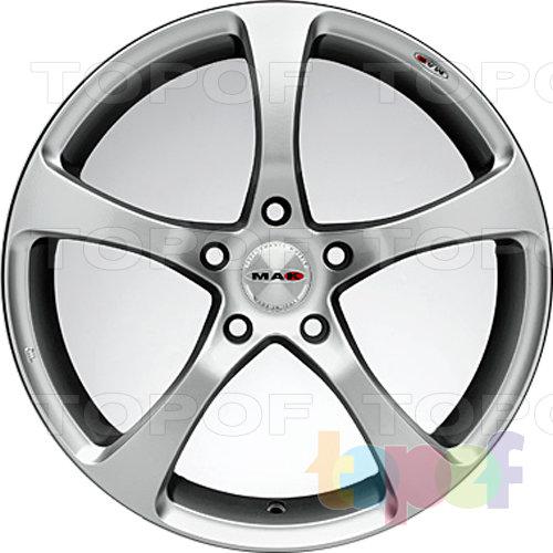Колесные диски Mak Vertigo. Серебряный