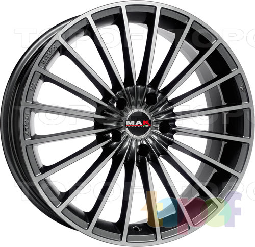 Колесные диски Mak Volare. Цвет Mirror Face