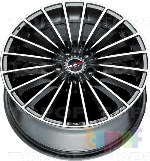 Колесные диски Mak Volare. Цвет Gun Metallic