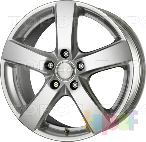Колесные диски Mak Web. Изображение модели #1