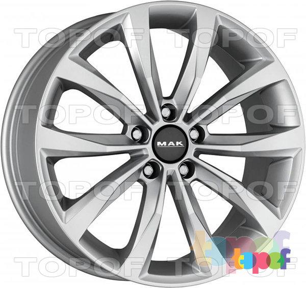 Колесные диски Mak Wolf. Изображение модели #1