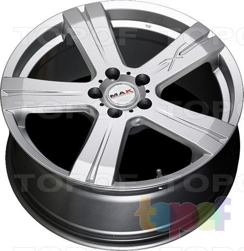 Колесные диски Mak X-Treme. Изображение модели #6