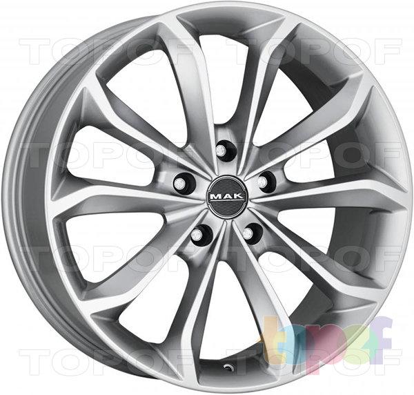 Колесные диски Mak Xenon. Изображение модели #1