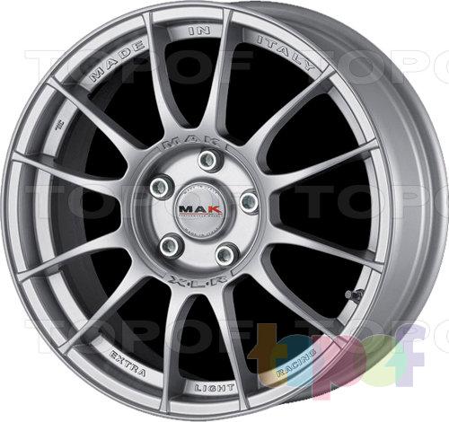 Колесные диски Mak XLR. Цвет серебряный