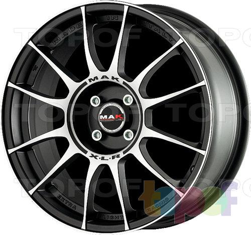 Колесные диски Mak XLR. Ice Black
