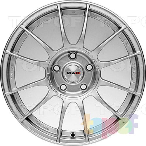 Колесные диски Mak XLR. Цвет - Серебро