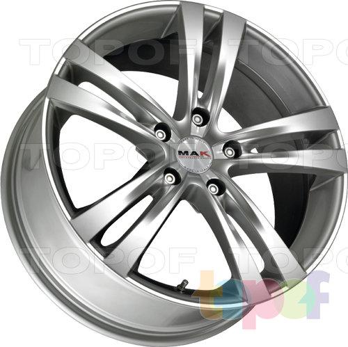 Колесные диски Mak Zenith. Изображение модели #2