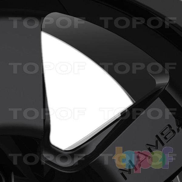 Колесные диски Mamba M14. Лучи черного матового диска