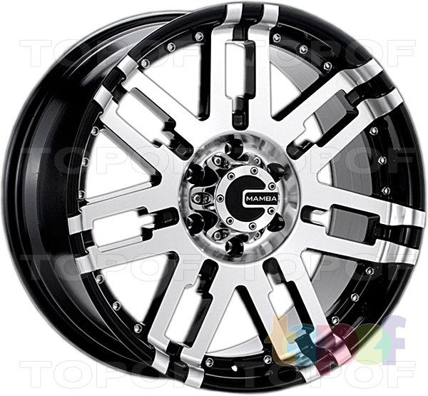 Колесные диски Mamba M2X. Изображение модели #1