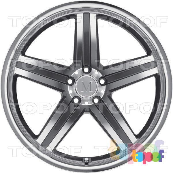 Колесные диски Mandrus Mannheim. Изображение модели #3