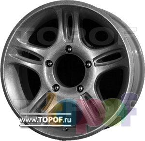 Колесные диски Мегалюм Лоцман УАЗ. Изображение модели #1
