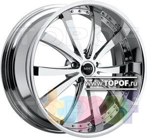 Колесные диски MHT Tuscan. Изображение модели #1
