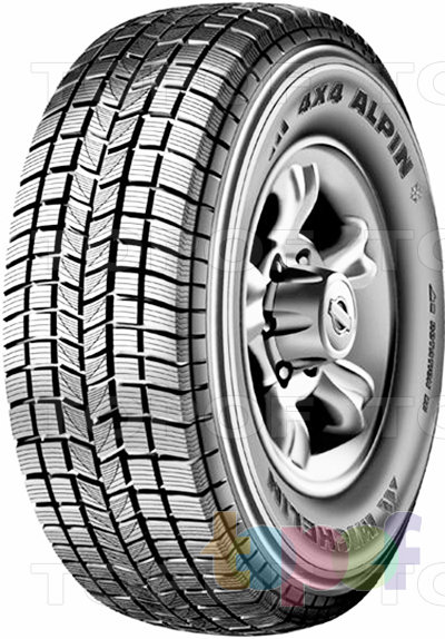 Шины Michelin 4x4 Alpin