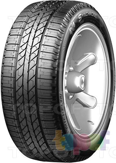 Шины Michelin 4X4 Synchrone. Летняя шина для внедорожников
